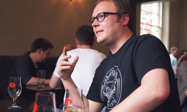 Tom Cadden at craft beer co