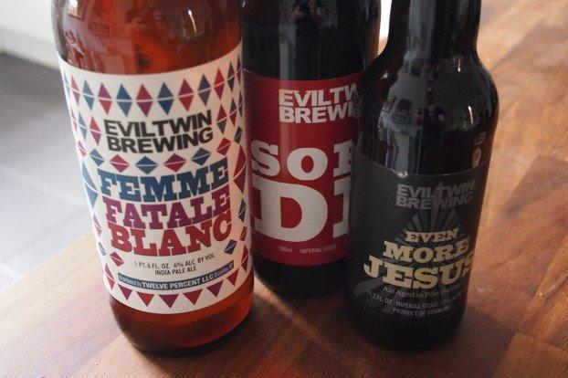 Evil Twin Brewing Beers