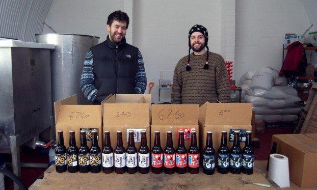 Andy & Andy at Partizan Brewing