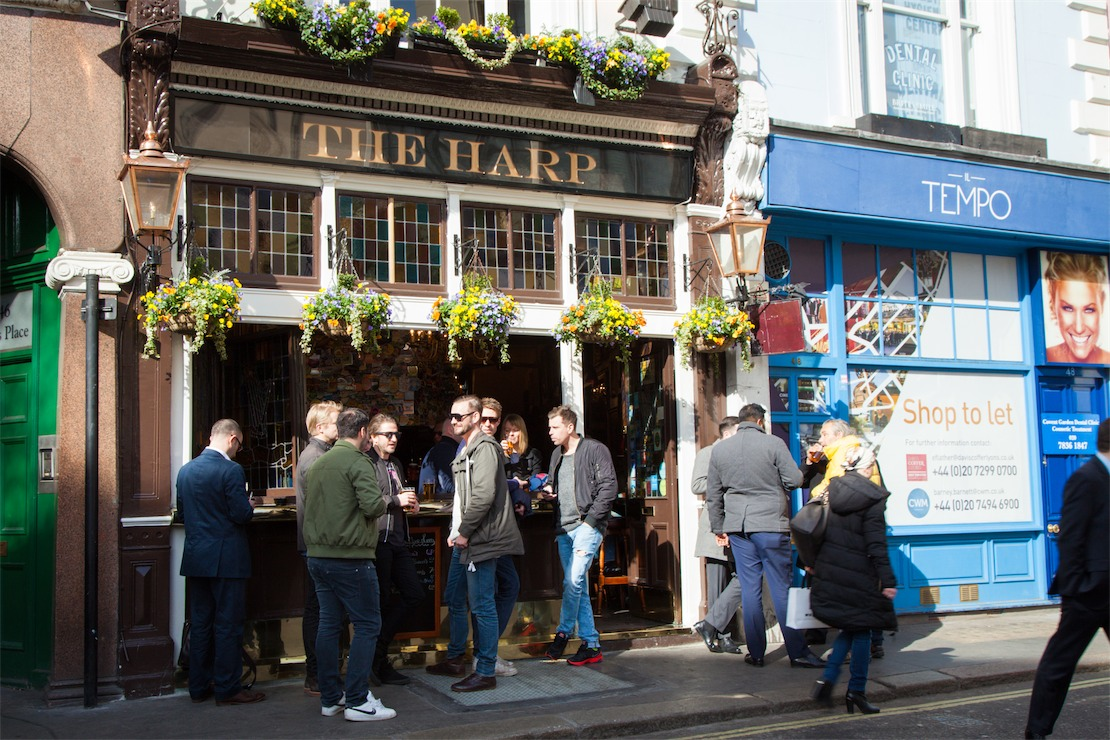 The Harp, London – My Favourite Pubs #1