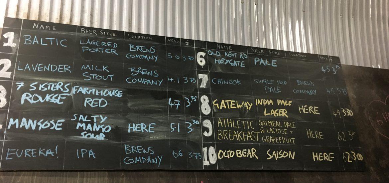 Ubrew Beer Bermondsey