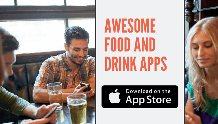 Food and Drink Apps on iPhone