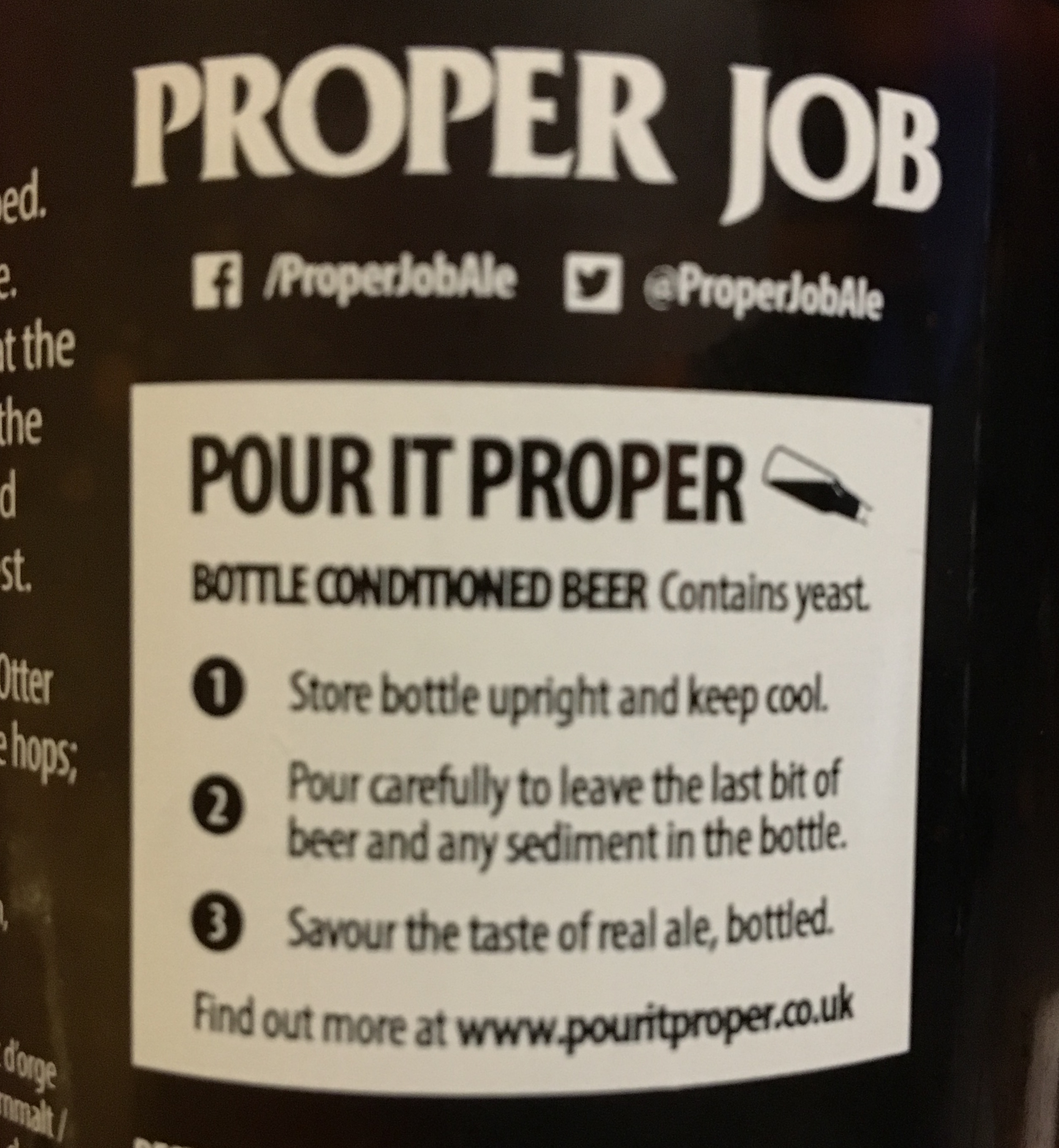 Proper Job, A Cornish IPA from St Austell Brewery