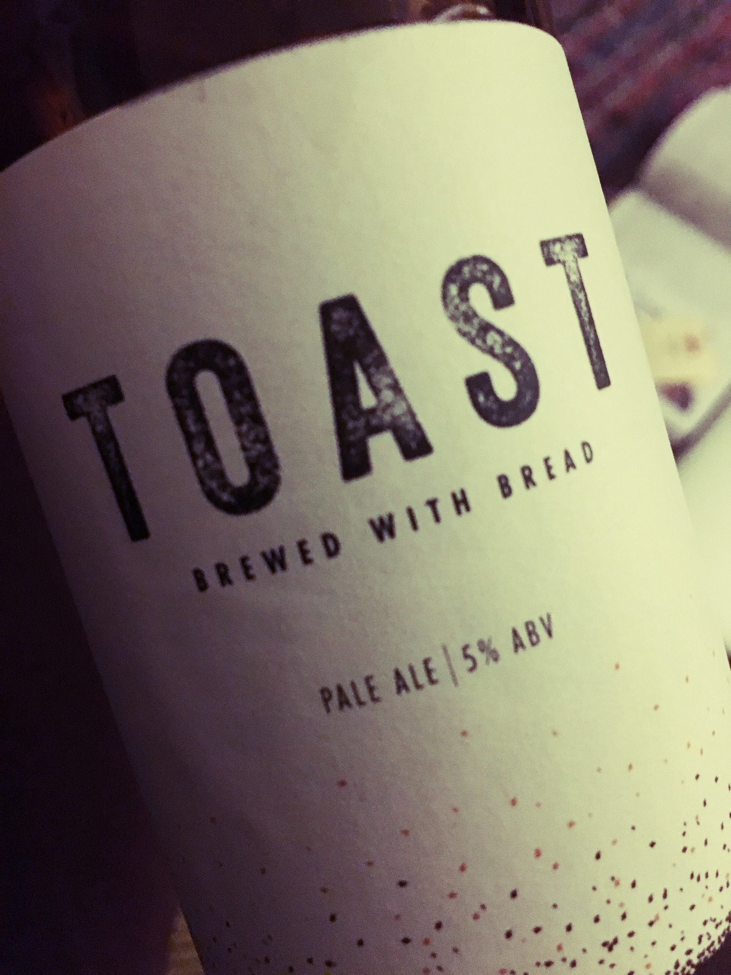 Toast Pale Ale – Beer Brewed from Bread