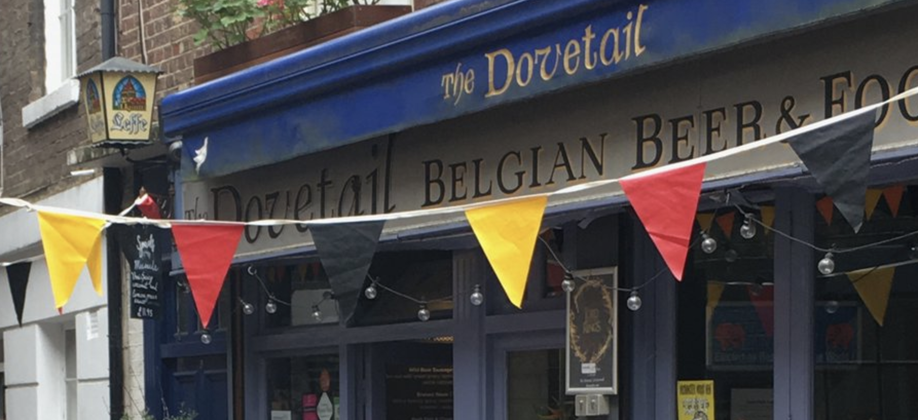 Hidden Gems: The Dovetail – A Belgian Beer Cafe in London