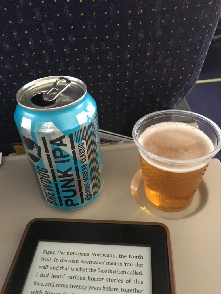 Punk IPA on a plane