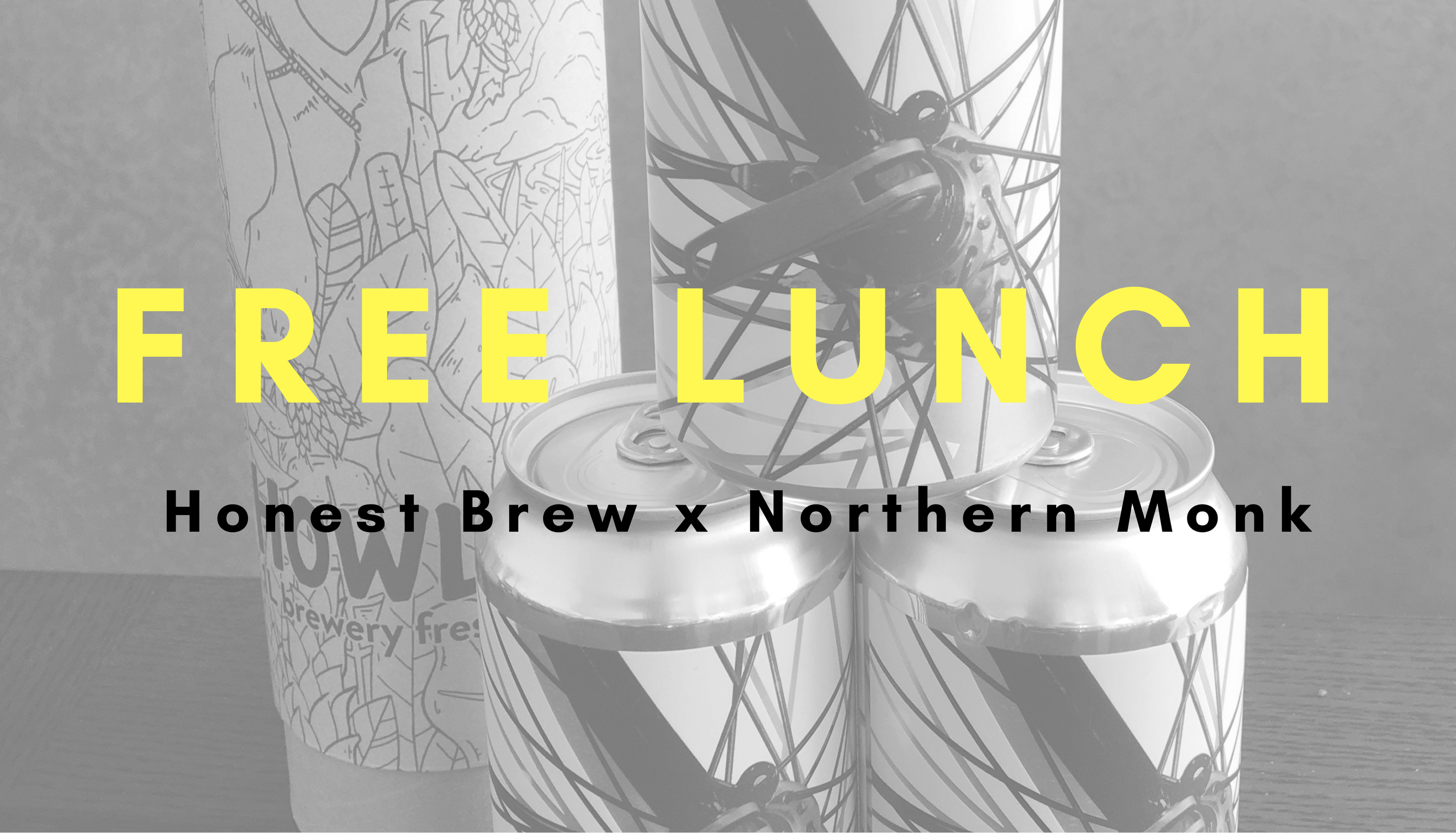 Craft Beer Peddlers Honest Brew Team with Northern Monk to Provide a Free Lunch