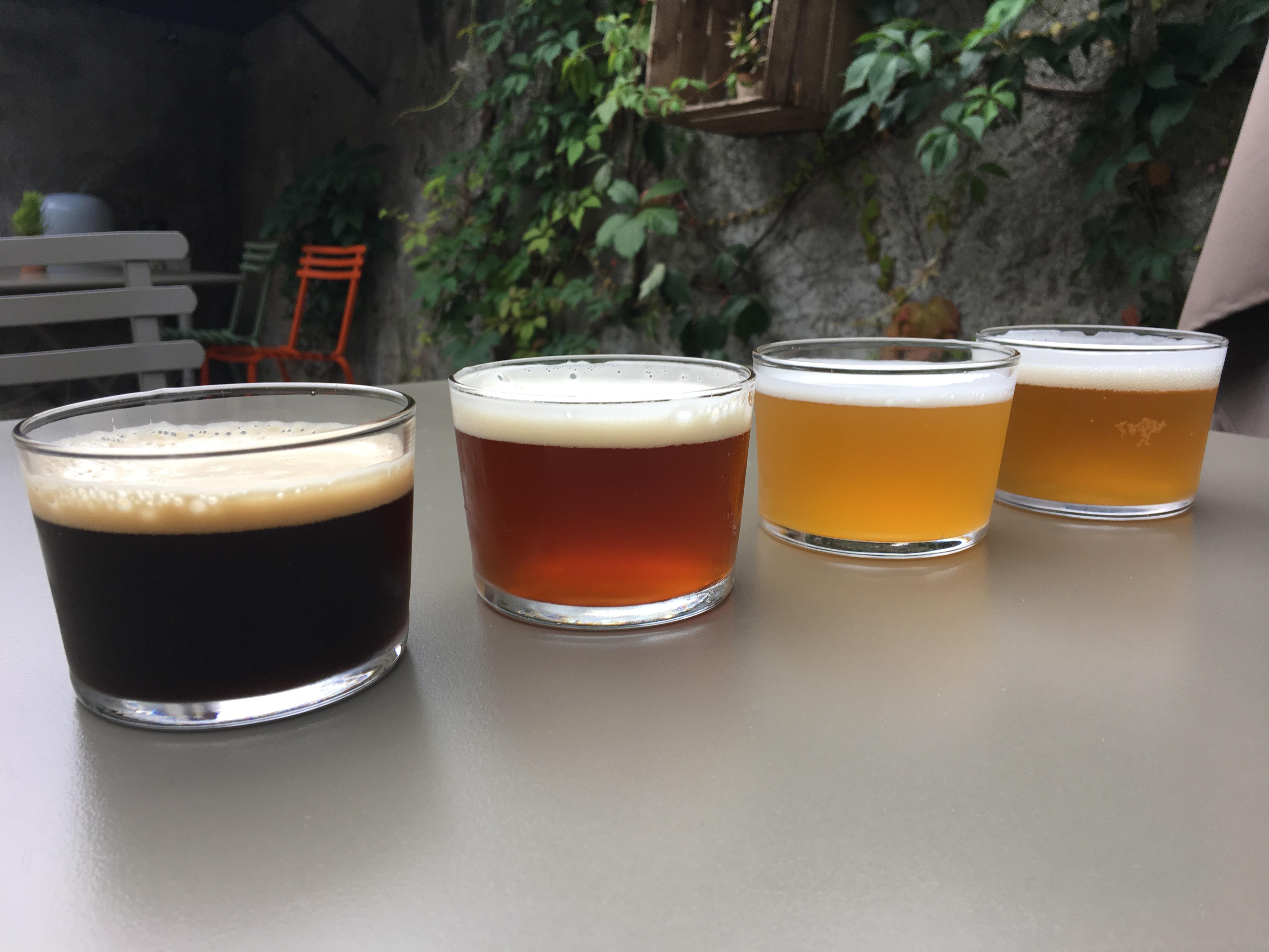 beers from Aqua Dulza