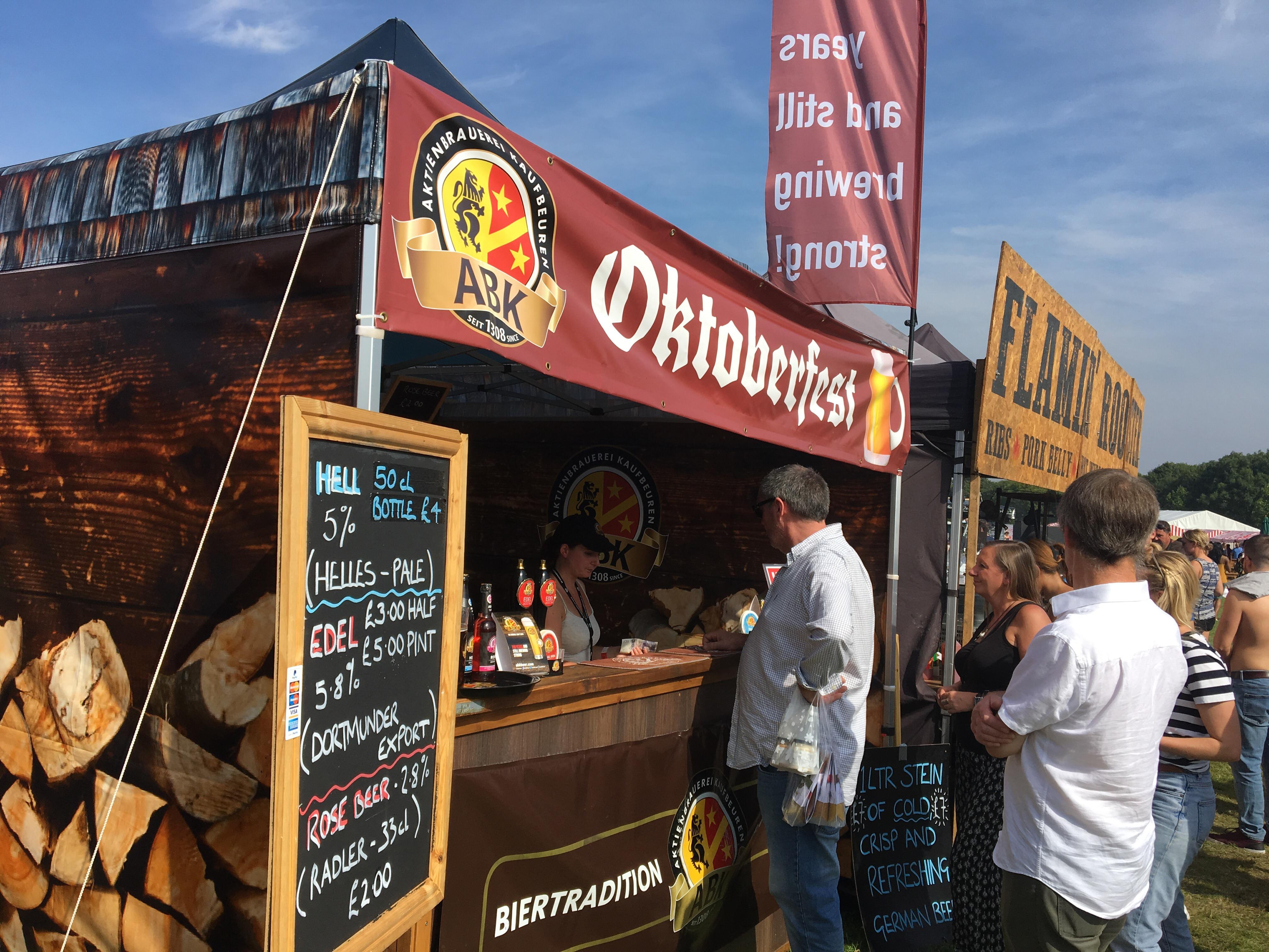 Oktoberfest stand from ABK