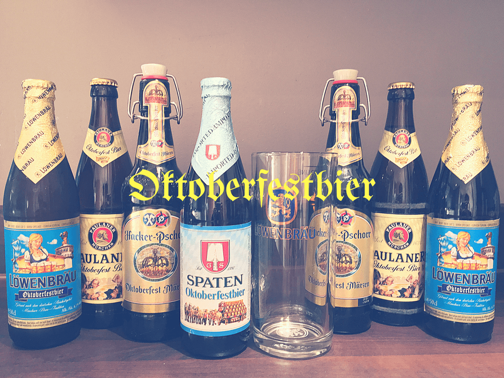 A Case of German OktoberfestBier