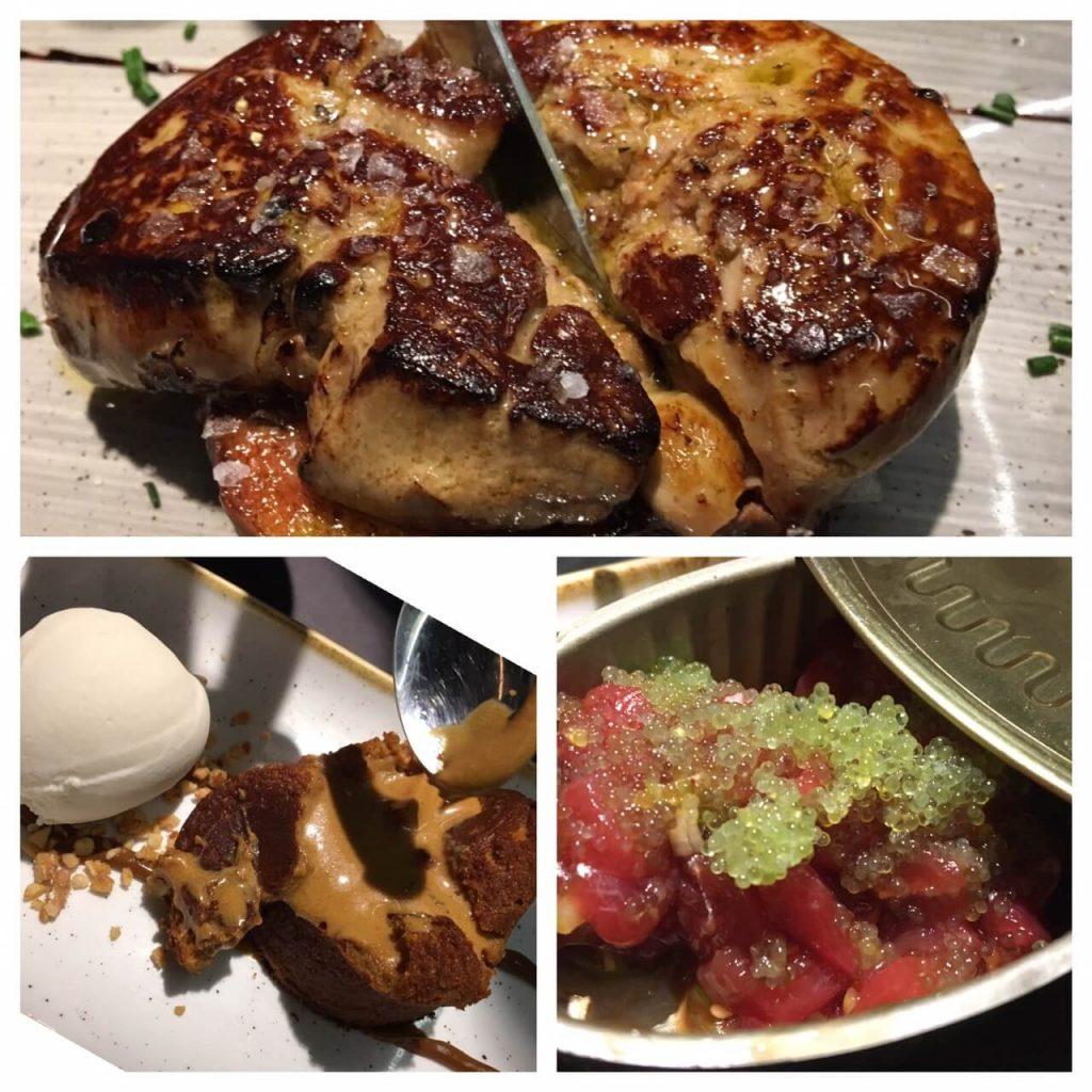 Tapa available at Juana La Loca (Foie Gras, Chocolate Volcano, Tuna Tartare)