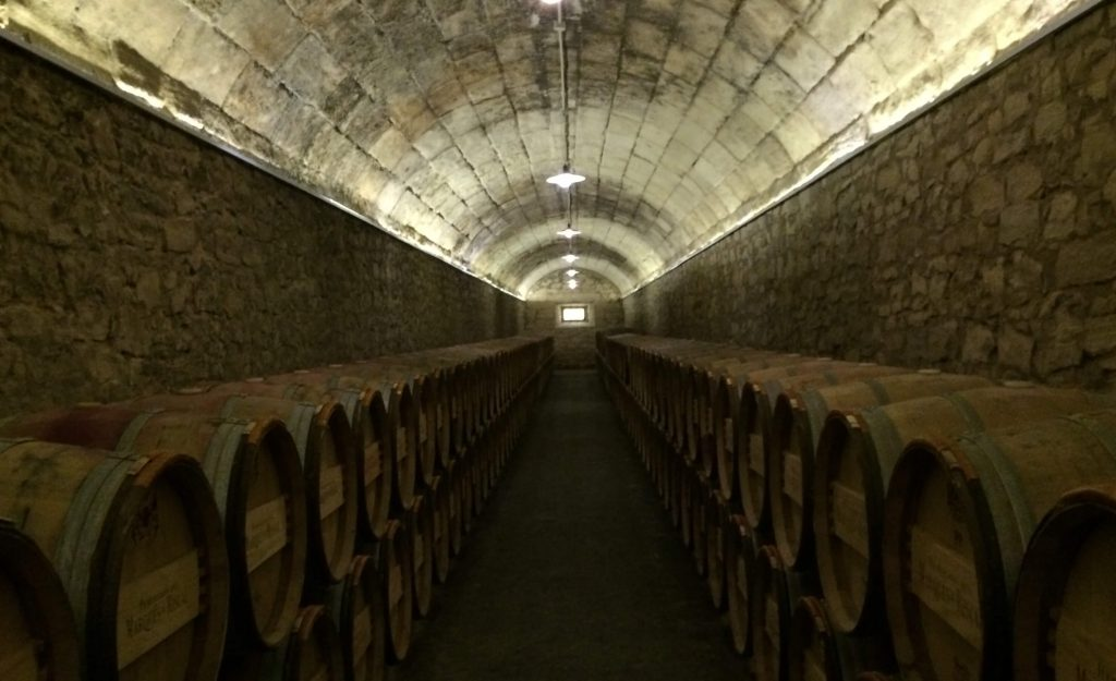 The Marques de Riscal Cellar