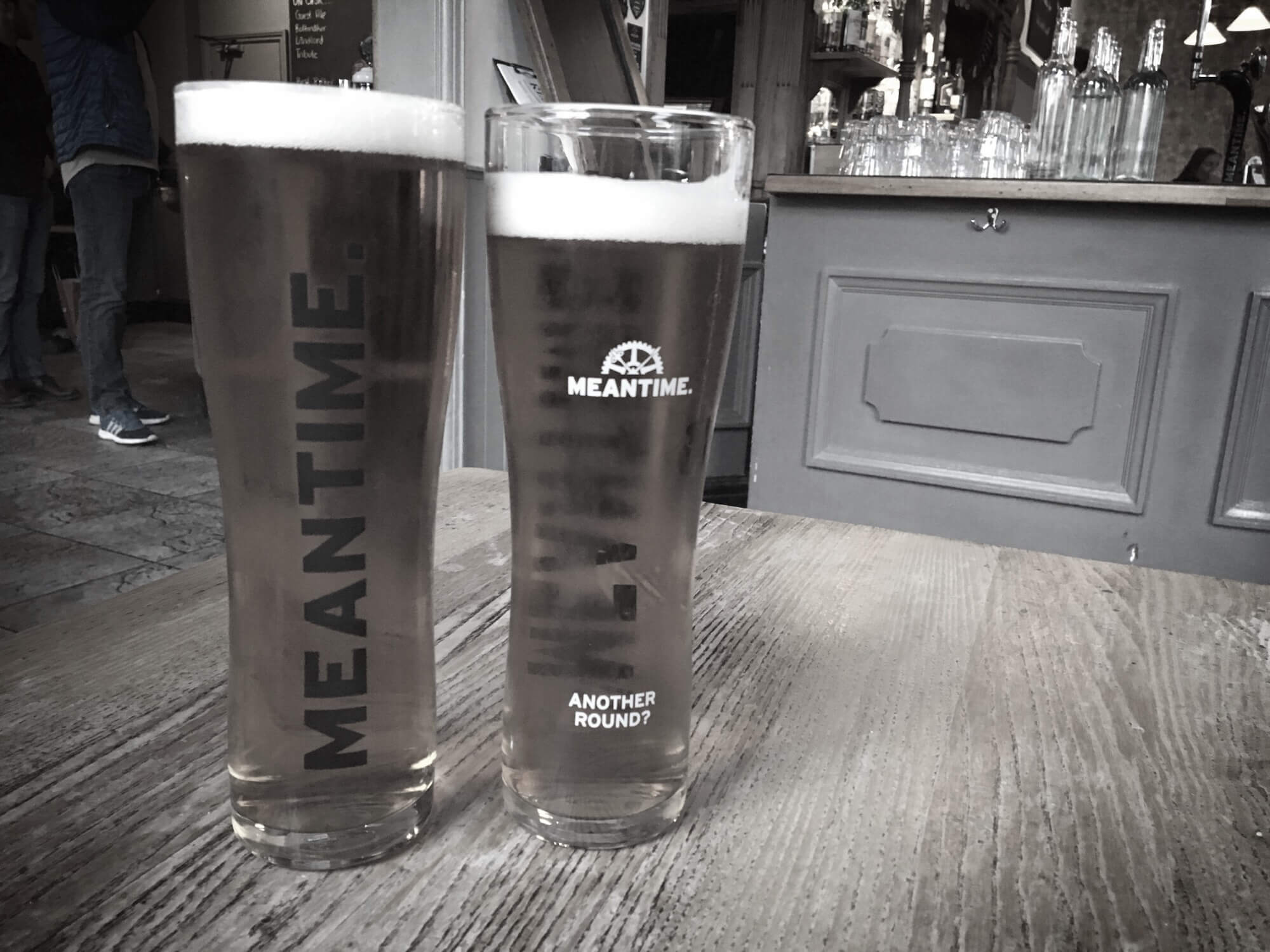 Battle of the Free Pints - Brewdog Punk IPA Vs Meantime Pale Ale