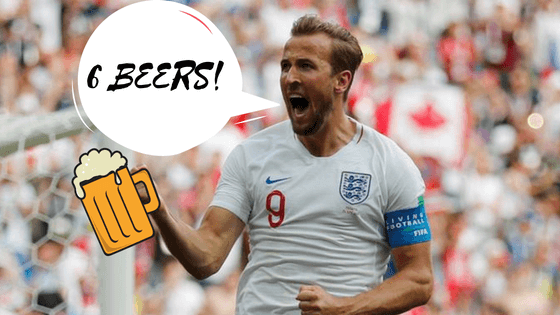 Six Beers to Drink During an England World Cup Match
