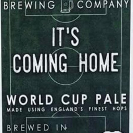 It's Coming Home Pale Ale