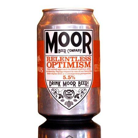 relentless optimism, moor beer