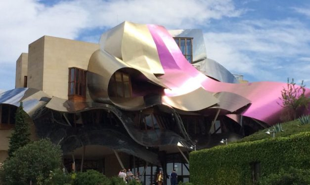 Discovering Gehry at the Marqués de Riscal Winery