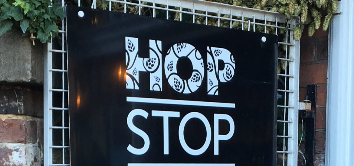 Hop Stop Sign Oxted