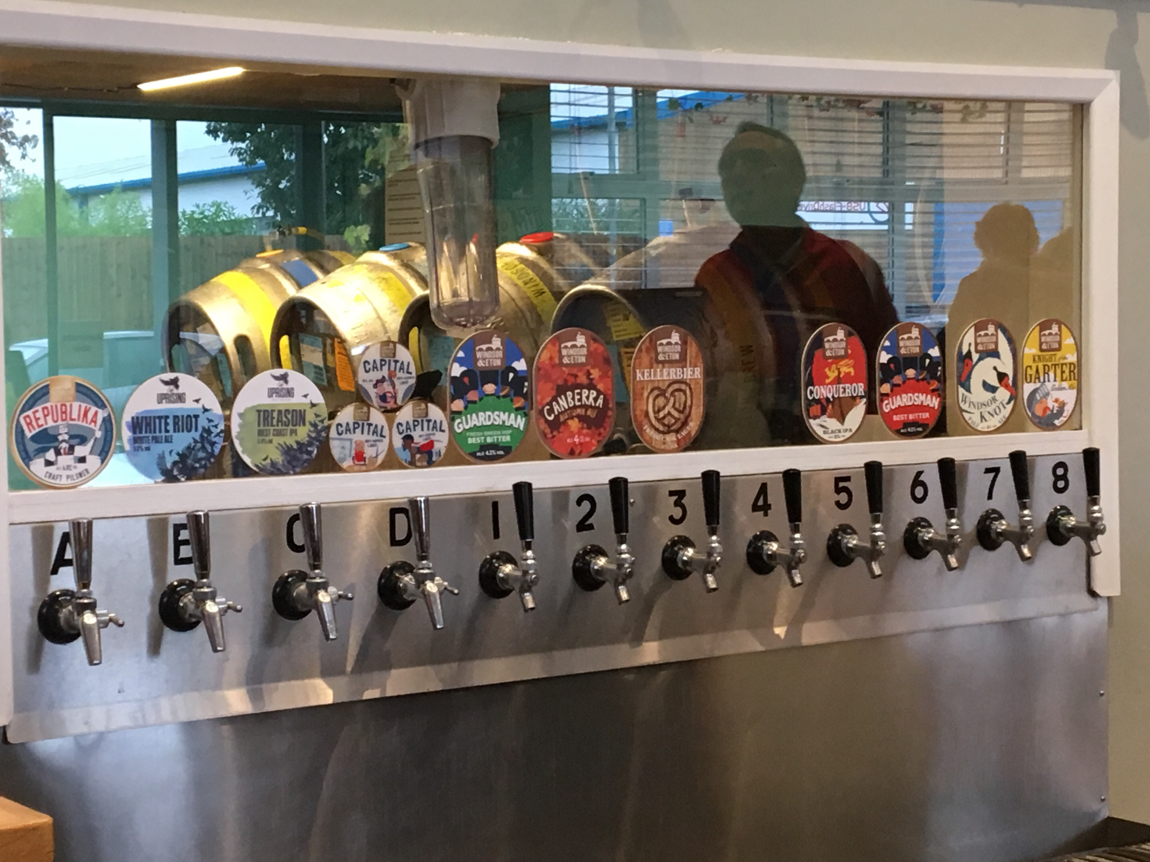 Taps at the Brewery