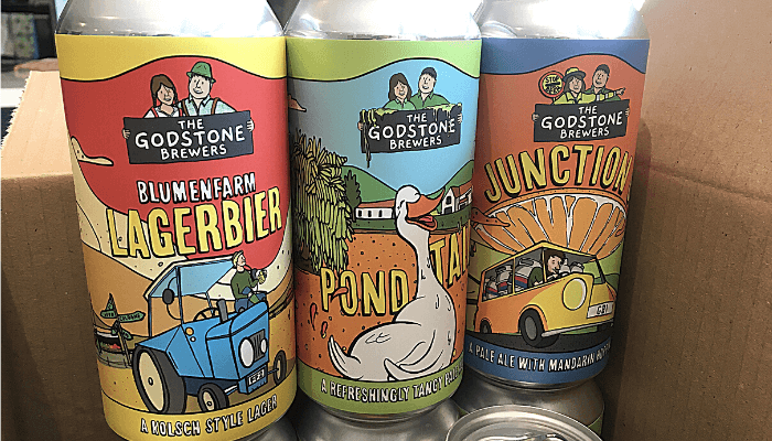 Godstone Brewers Cans