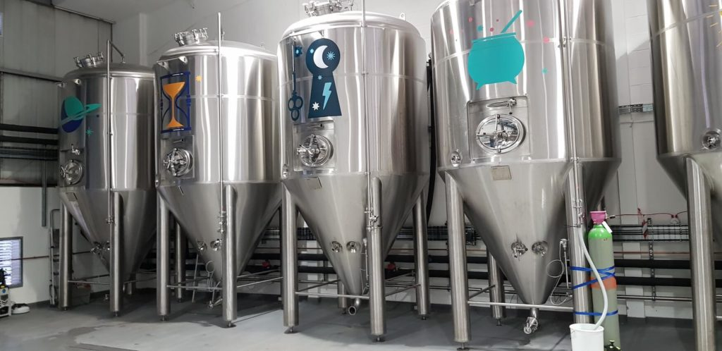 Fermenters are shiny