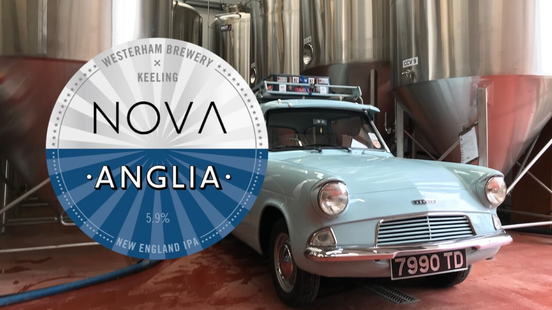 Nova Anglia New England IPA: John Keeling X Westerham Brewery