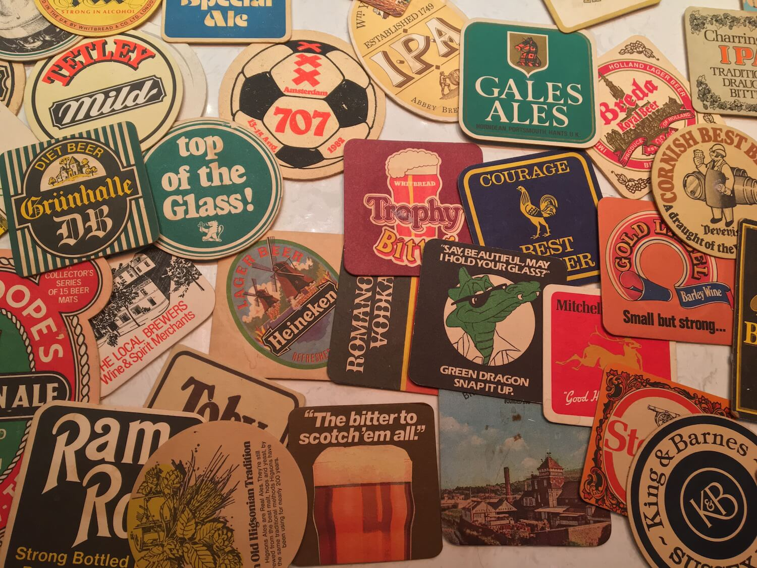 Beer Mat Collection Discovered in the Loft
