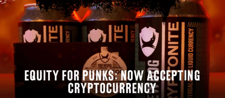 Cryptocurrency Investors Can Now Become a Brewdog Equity Punk