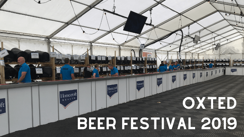 Oxted Beer Festival 2019