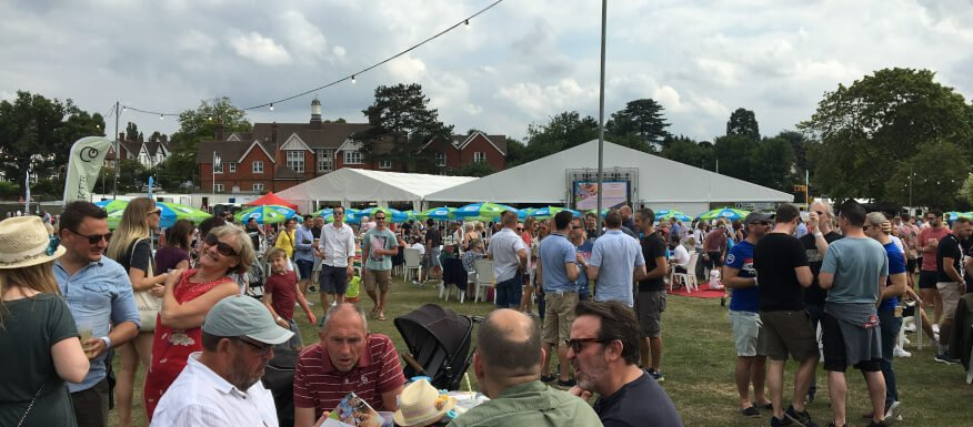 Surrey Beer Festivals No Longer Clash