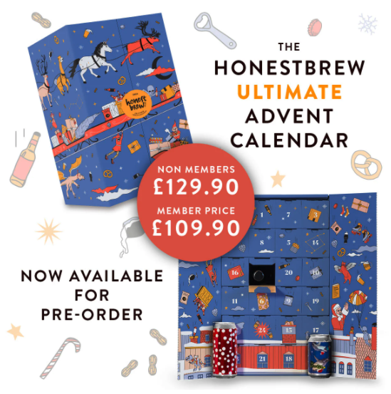 Honestbrew Ultimate Advent Calendar 2020