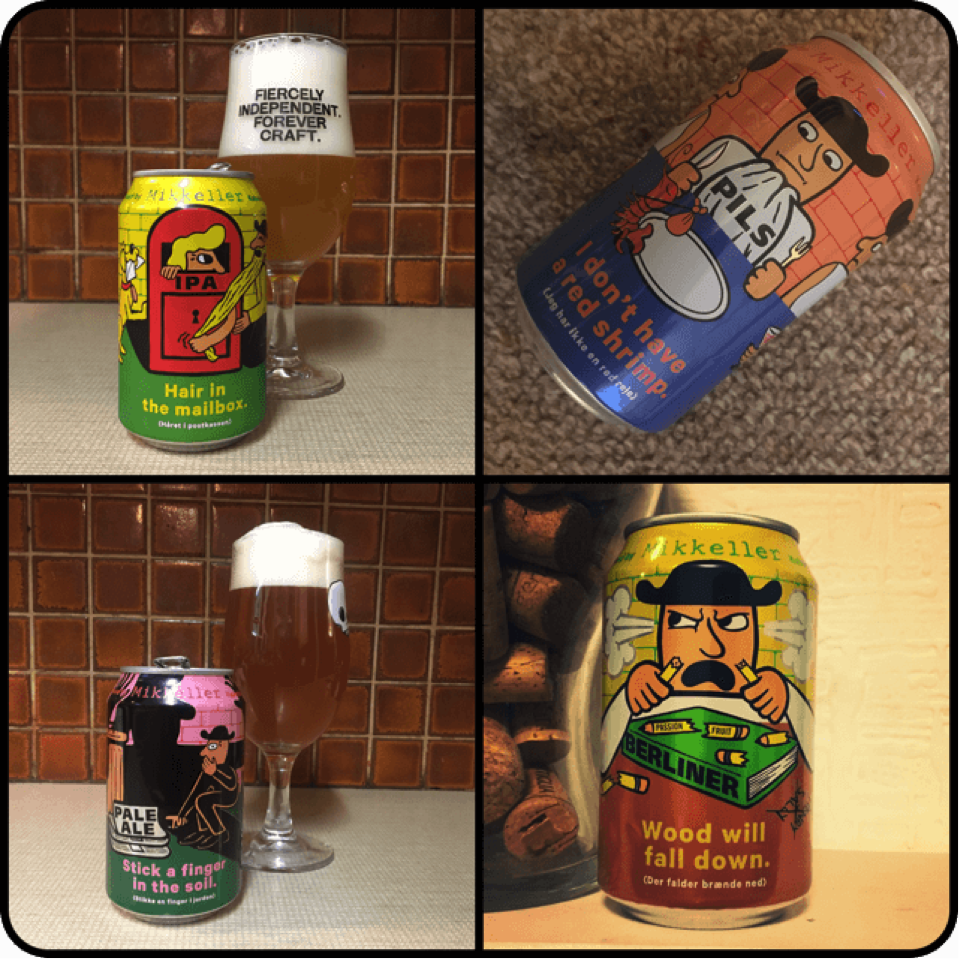 Mikkeller Cans Available all Year Round