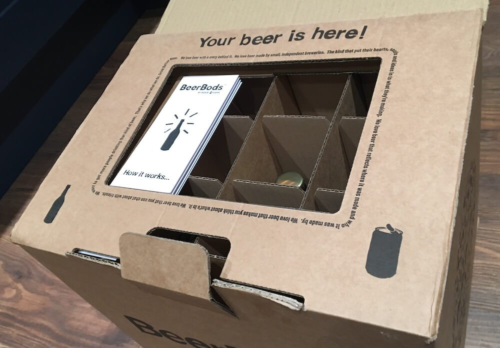 Your beer is here!