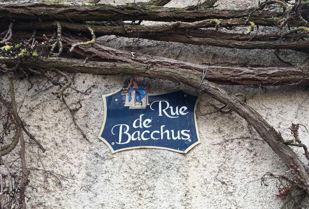 Rue de Bacchus