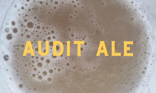 Local Lockdown Beers: Audit Ale by Westerham Brewery