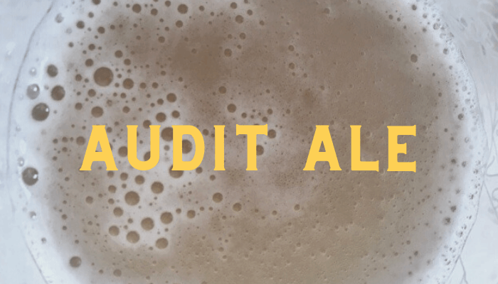 Local Lockdown Beers: Audit Ale by Westerham Brewery