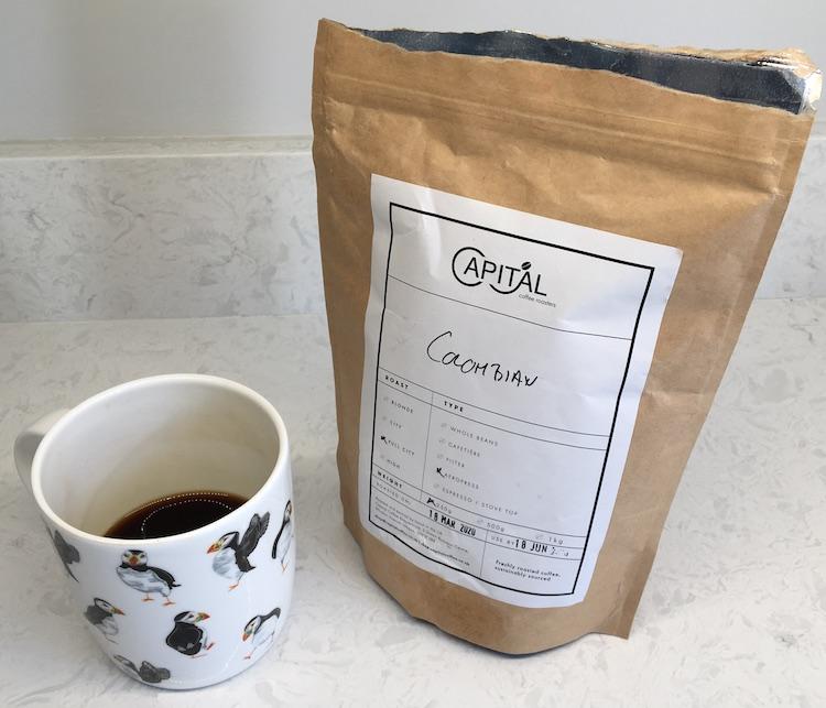 Freshly Roasted Columbian Coffee