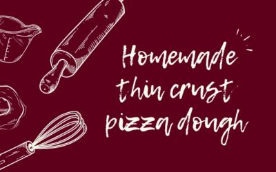 Home-made Thin-Crust Pizza Dough