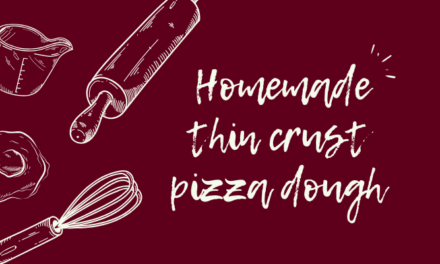 Home-made Thin-Crust Pizza Dough