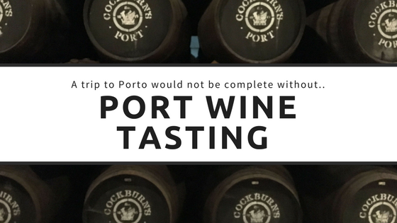 Port Wine Tasting in Porto at Cockburn's