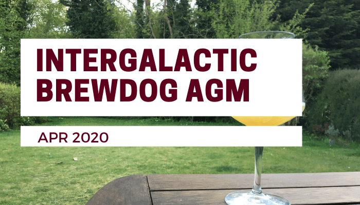 Brewdog Intergalactic AGM 2020