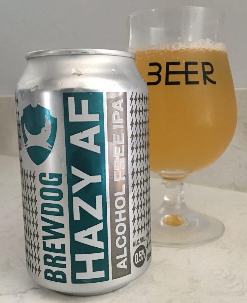 Hazy AF By Brewdog - A Non-Alcoholic Hazy IPA