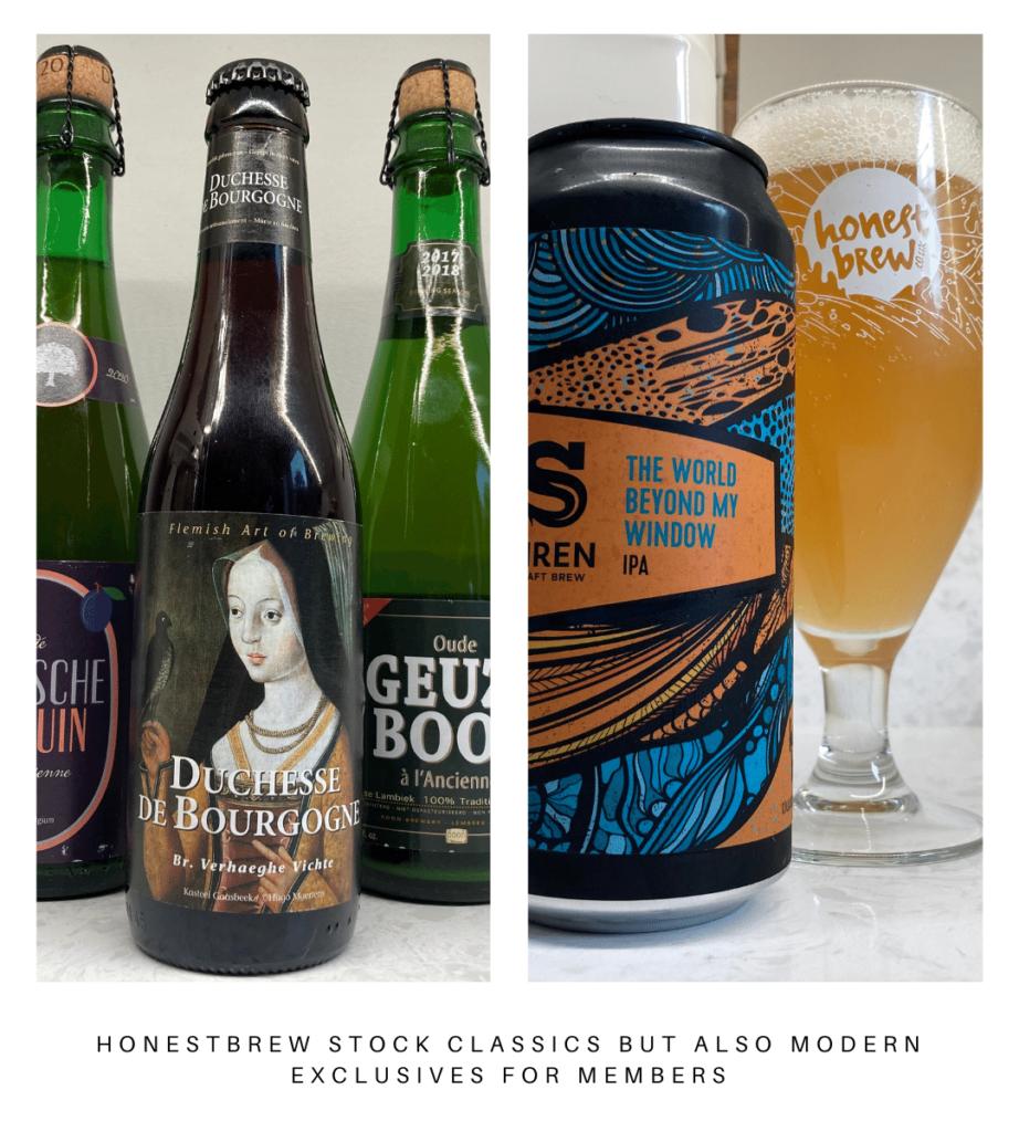 HonestBrew Members Beers