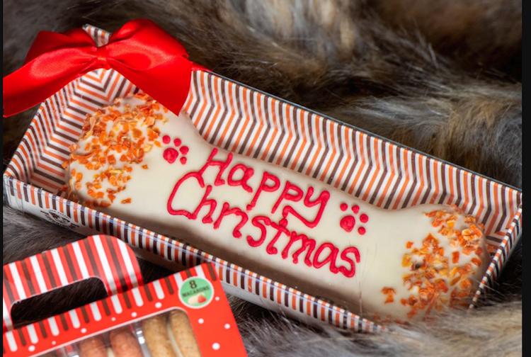 Christmas Dog Bone