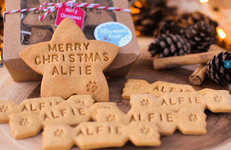 Personalised Dog Biscuits