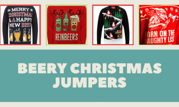Beer Christmas Jumpers: the Bacchanalian edition
