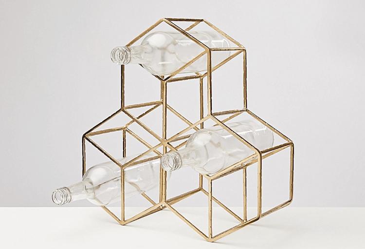 Hexagon Wine Rack