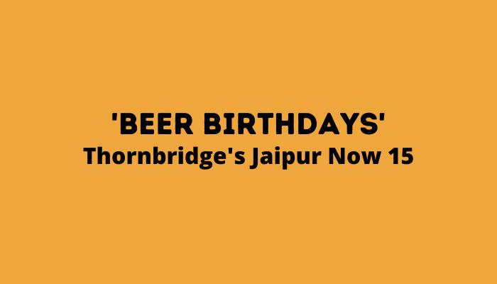 Jaipur's 15th Birthday Celebrations