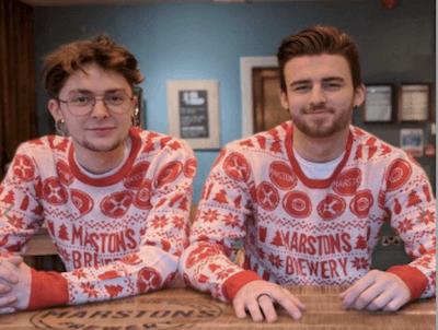 Marstons Christmas Jumper