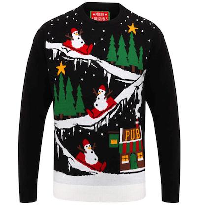 Pub Christmas Jumper